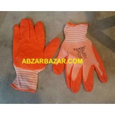 دستکش کار کف نارنجی هندی HANDY